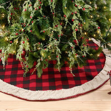 More about the 'Buffalo Check Tree Skirt w/Sherpa Trim' product