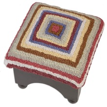 More about the 'Bullseye Footstool' product
