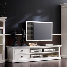 Large entertainment unit in room