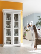 NovaSolo Double glass cabinet