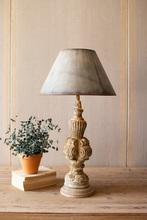 More about the 'Table Lamp With Sculpted Base And Galvanized Shade' product