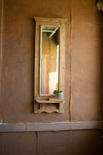 More about the 'Tall Rectangle Wood Framed Mirror With Shelf' product