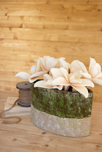 More about the 'Green And Natural Oval Planter' product
