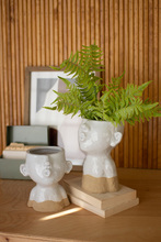 More about the 'Set Of Two Ceramic Smooching Planters' product