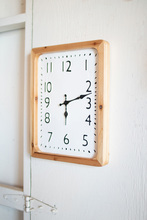 More about the 'Tall Rectangle Wood Framed Wall Clock' product