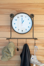 More about the 'Clock With Coat Hooks' product