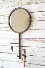 More about the 'Round Wall Mirror With Rotating Coat Hooks' product