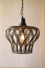 More about the 'Rattan Bell Pendant Light' product