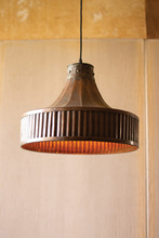 More about the 'Corrugated Copper Pendant Light' product