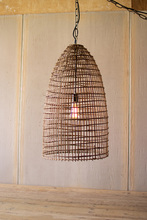 More about the 'Woven Cane Dome Pendant Light' product
