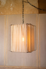 More about the 'Pendant Light With Canvas Shade' product