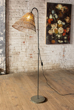 More about the 'Floor Lamp With Rattan Shade' product