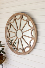 More about the 'Round Wood Framed Mirror' product