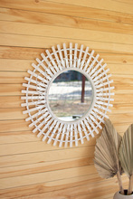 More about the 'Round Split Bamboo Mirror' product