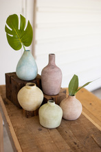More about the 'Set Of Five Pastel Ceramic Bud Vases' product