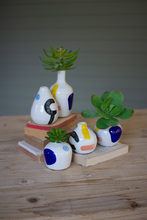 More about the 'Set Of Five Multicolor Hand Painted Vases' product