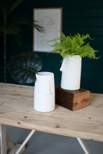 More about the 'Textured White Ceramic Face Vase' product