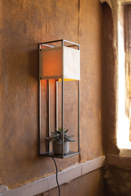 More about the 'Wall Lamp With Metal Frame And Canvas Shade' product