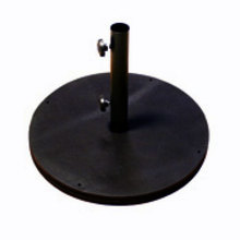 Black heavy umbrella base crly903