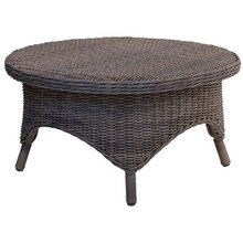 Conservatory Wicker Coffee Table