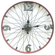 Spoke in Time Bike Wheel Clock