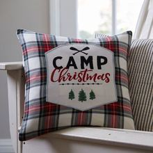 Camp Christmas Pillow