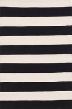 Catamaran Stripe Black/Ivory