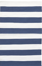 Catamaran Stripe Denim/White