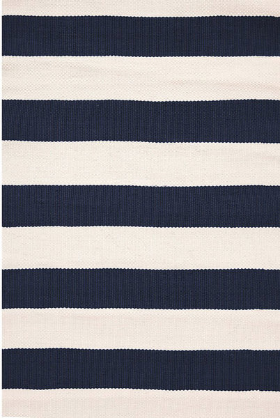 Catamaran Stripe Navy/Ivory Indoor/Outdoor