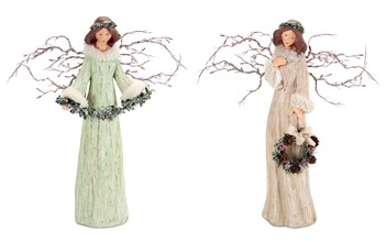More about the 'Branch Angels (Set of 2)  Beige/Mint' product