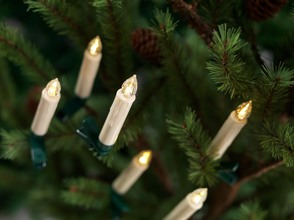 More about the 'LED Clip-on Taper Candles (Set of 24) w/Remote  White' product