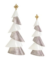 More about the 'Modern Tree (Set of 2)  White/Silver' product