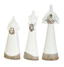 More about the 'Modern Wiseman (Set of 3) White/Silver' product