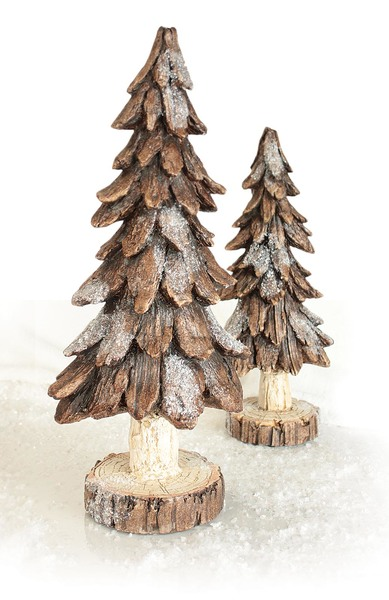 Tree (Set of 2)  Brown
