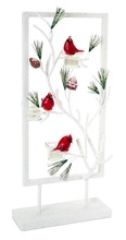 More about the 'Snowy Cardinal Tea Light Holder  White/Red' product
