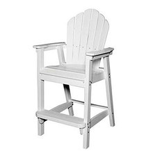 Adirondack Classic Bar Chair - White