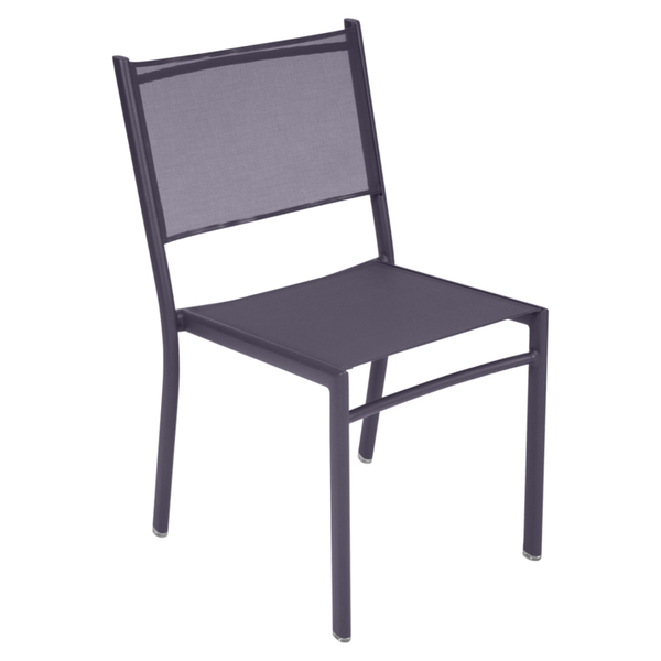 Costa Stacking Side Chair - Plum