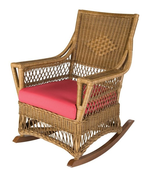 Cottage Square Wicker Rocker