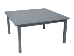 "Fermob Craft Table 56"" square - Storm Grey"