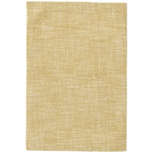 Crosshatch Gold Micro-Hooked Wool Rug