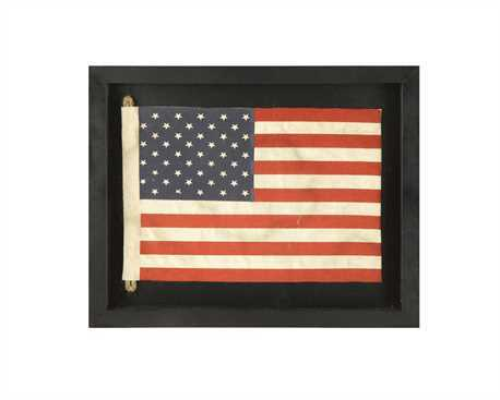 Framed American Flag DA5389