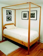 Twin Pencil Post bed
