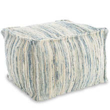 More about the 'Denim Rag Pouf' product