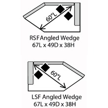 Devin Angle Wedge Sectional