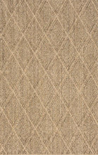 Diamond Natural Woven Sisal Rug