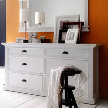 White Dresser in room