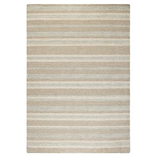 Driftwood Stripe Rug by Company C
