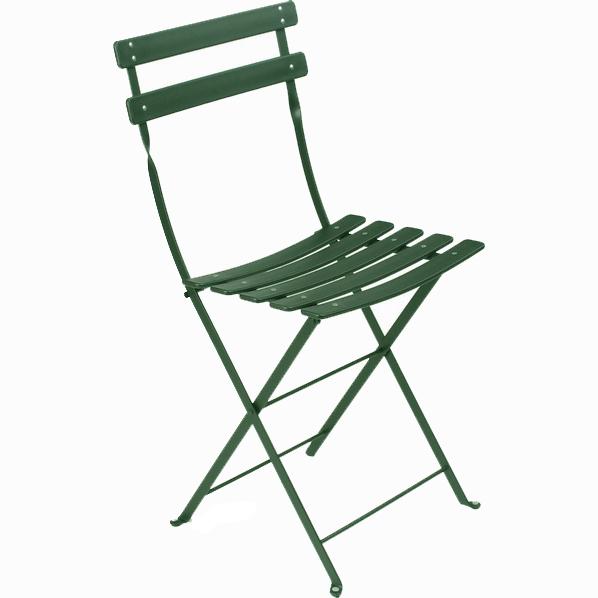 Superbe Duraflon Folding Bistro Chair Cedar Green