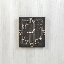 More about the 'Black Raised Panel Wall Clock' product