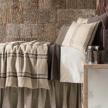 Farmhouse Linen Java natural Duvet Cover